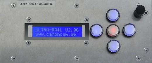 Bedienelement Ultra-Rail V2.09