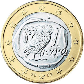 ?1 euro coin Gr serie 1 (1)?. Über Wikipedia - http://de.wikipedia.org/wiki/Datei:1_euro_coin_Gr_serie_1_(1).png#mediaviewer/Datei:1_euro_coin_Gr_serie_1_(1).png