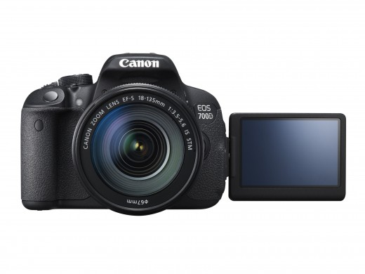 Neue Canon EOS 700D mit EF-S 18-135mm IS STM Objektiv