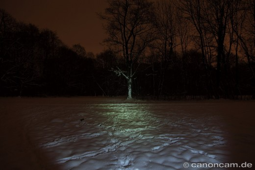 Leuchtstufe Mid = 80 Lumen - Fenix LD41 Taschenlampe