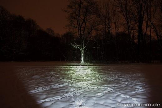 Leuchtstufe High = 190 Lumen - Fenix LD41 Taschenlampe