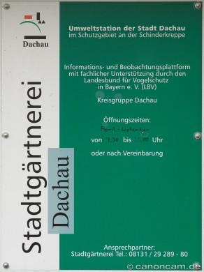 Beobachtungshütte Schinderkreppe Landschaftssee, Dachau
