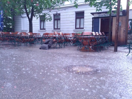 Regen, Regen, Regen - Schlecht-Wetter-Periode