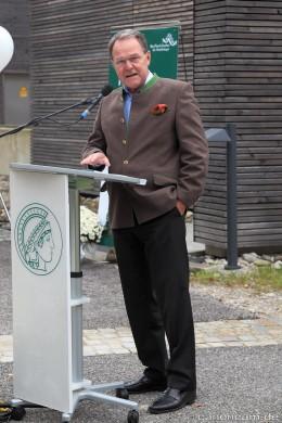 Schirmherr Dr. Wolfgang Heubisch,  Bayerischer Staatsminister für Wissenschaft, Forschung und Kunst