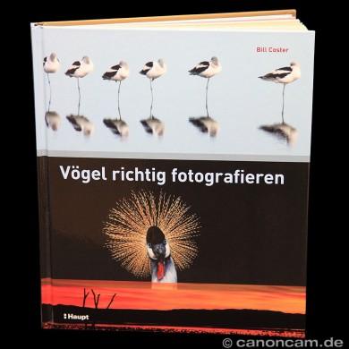 Literatur: Vögel richtig fotografieren von Bill Coster - Cover