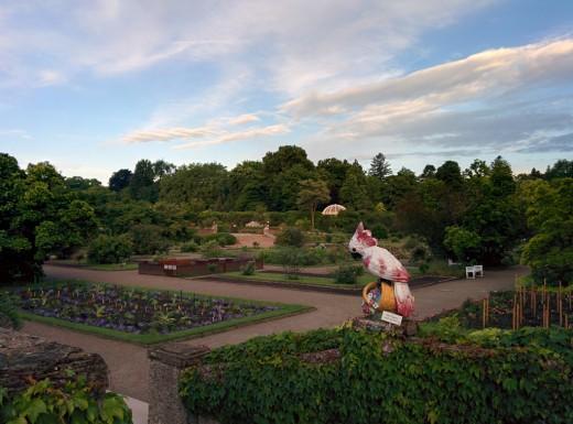 Ruhe vor dem Sturm im Schmuckgarten