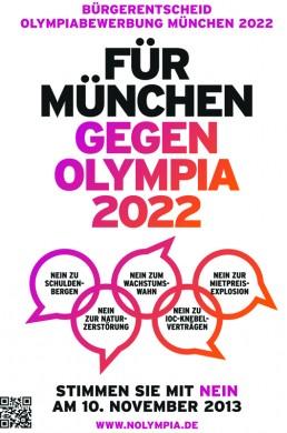 Nein zu Olympia 2022 in München