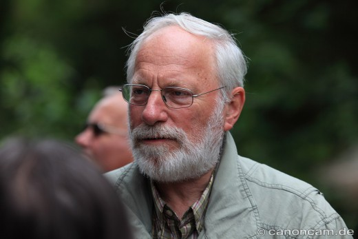 Manfred Siering erklärt die Flora