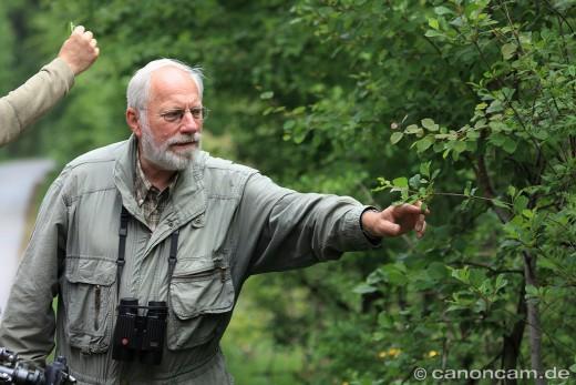 Manfred Siering und der Faulbaum
