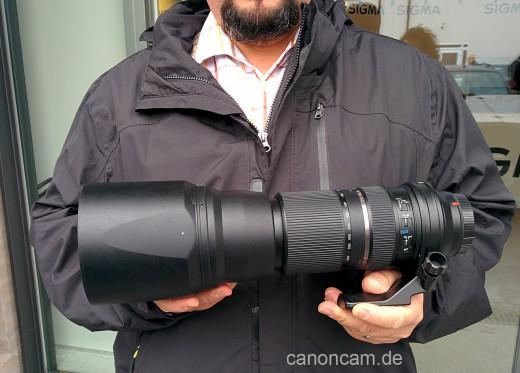 Da isses - das Tamron SP 150-600mm F/5-6.3 Di VC USD