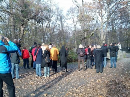 Eulen-Führung im Nymphenburger Schlosspark - mit Werner Borok